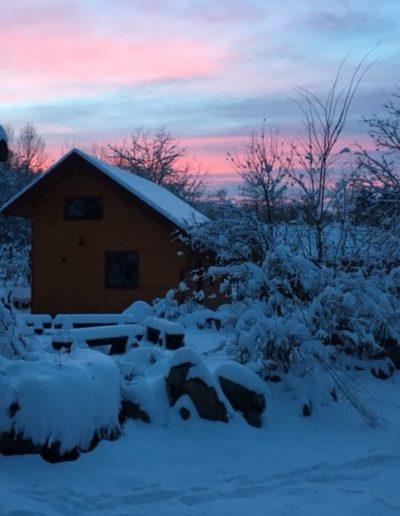 9 DPB po snijegu