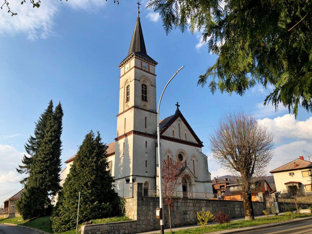 Crkva Sv Ivana Nepomuka Vrbovsko Turisticka Zajednica Grada