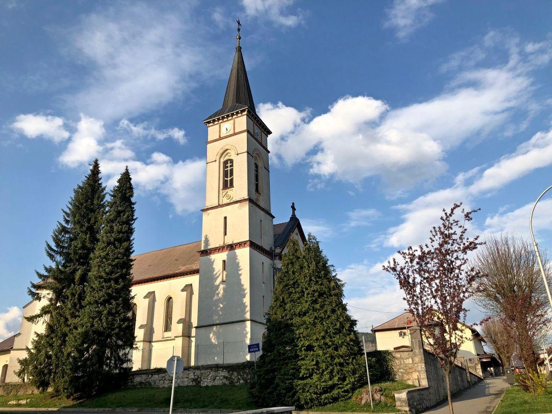 Crkva Sv Ivana Nepomuka Vrbovsko Turisticka Zajednica Grada Vrbovsko