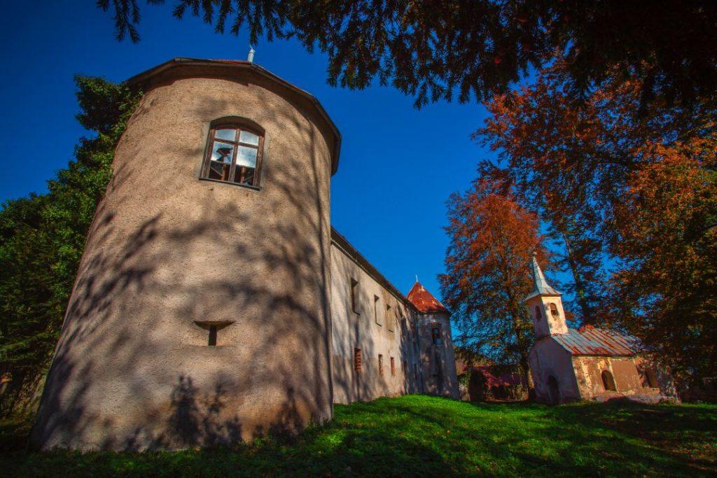 Dvorac Zrinsko Frankopanski Severin na Kupi