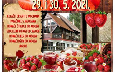Dani jagoda 29. i 30.05.2021. u Kamačniku
