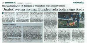 Goranski NL-Idućeg vikenda, 9. i 10. listopada u Vrbovskom sve u znaku bundeve, 04.10.2021. godine
