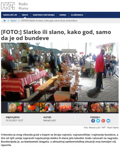 Radio Rijeka - [FOTO] Slatko ili slano, kako god, samo da je od bundeve, 10.10.2021. godine